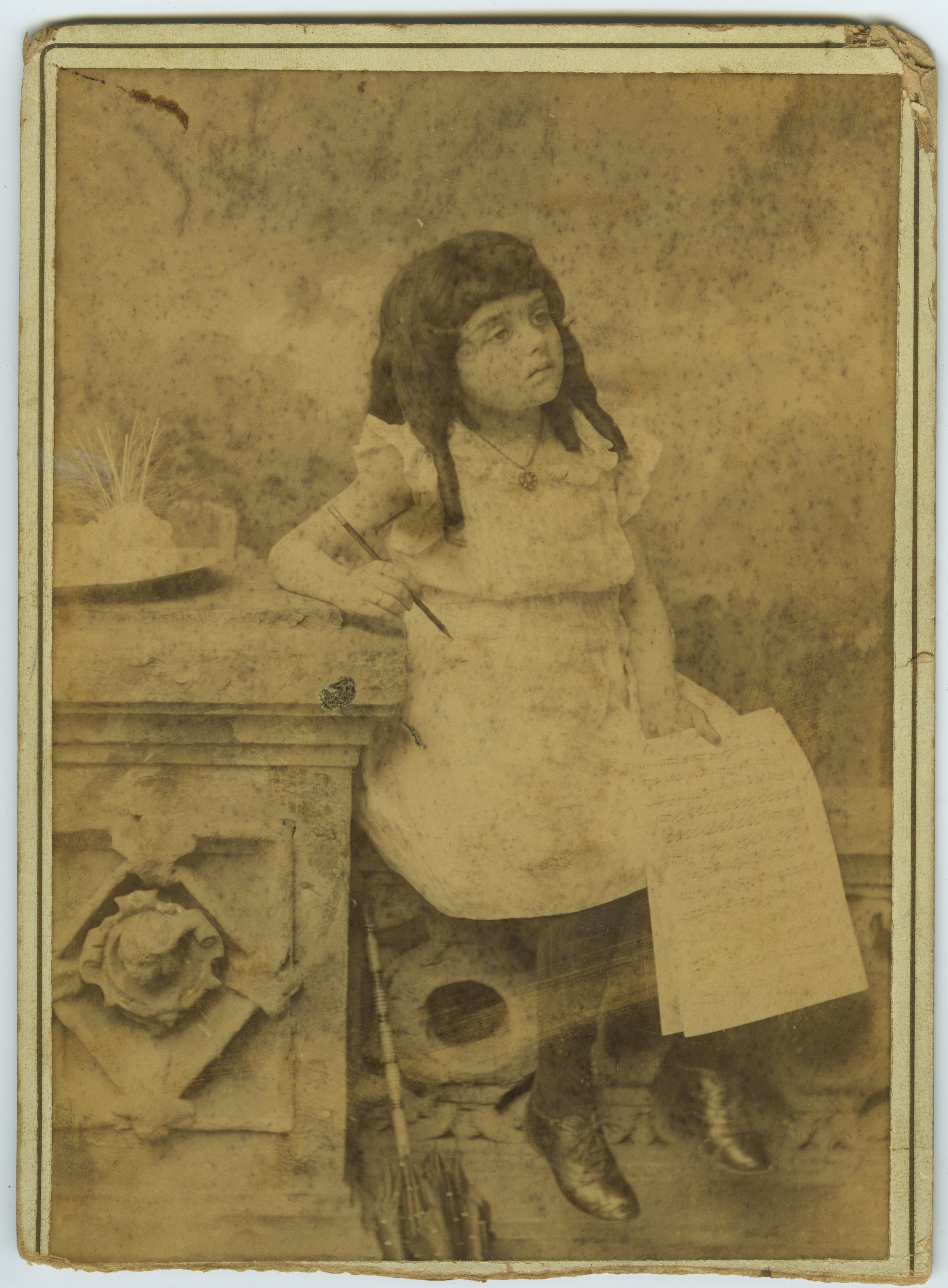 American University Address >> Early Photographs of Mana-Zucca | FIU Special Collections